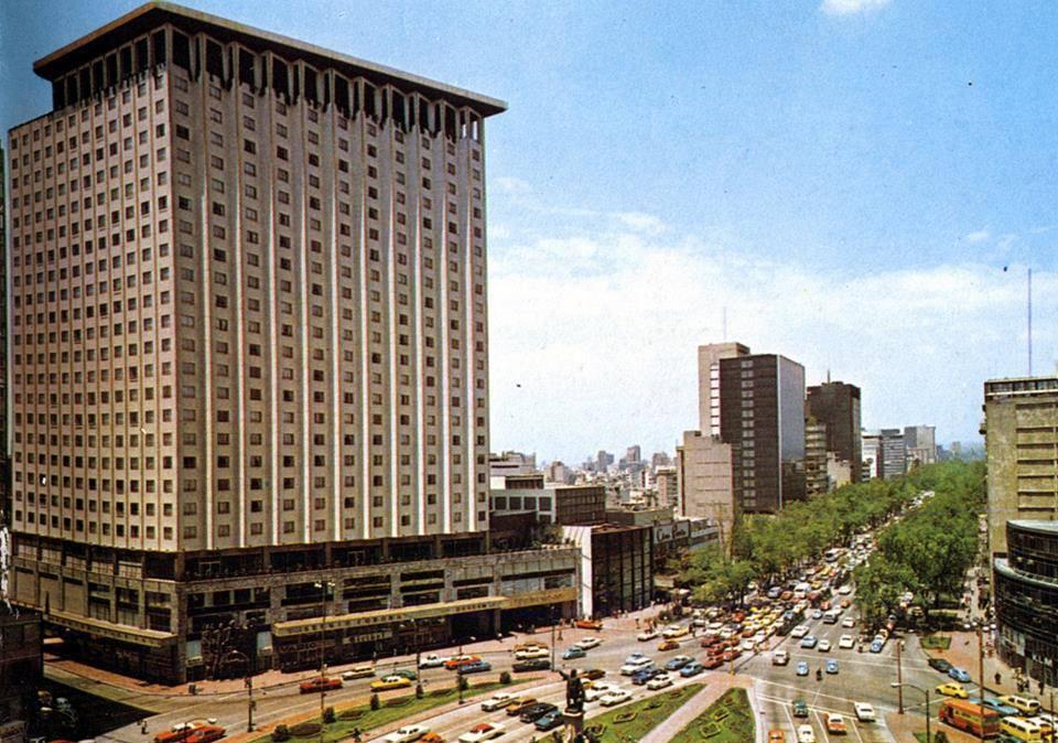 Paseo la reforma - 1970