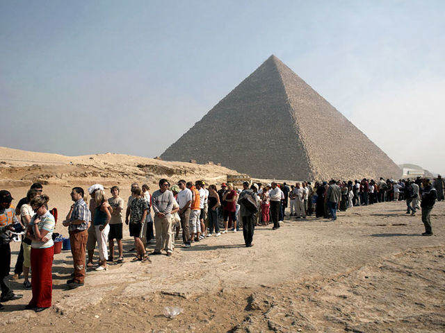 What about the Great Pyramid of Giza?