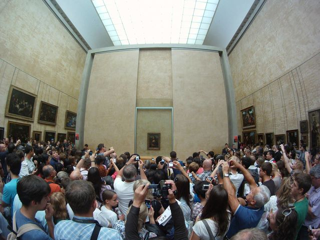 Louvre Museum in real life