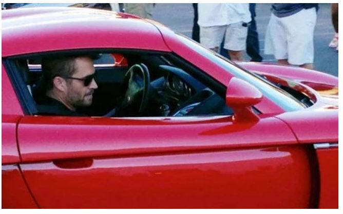 The last photo of Paul Walker before the accident