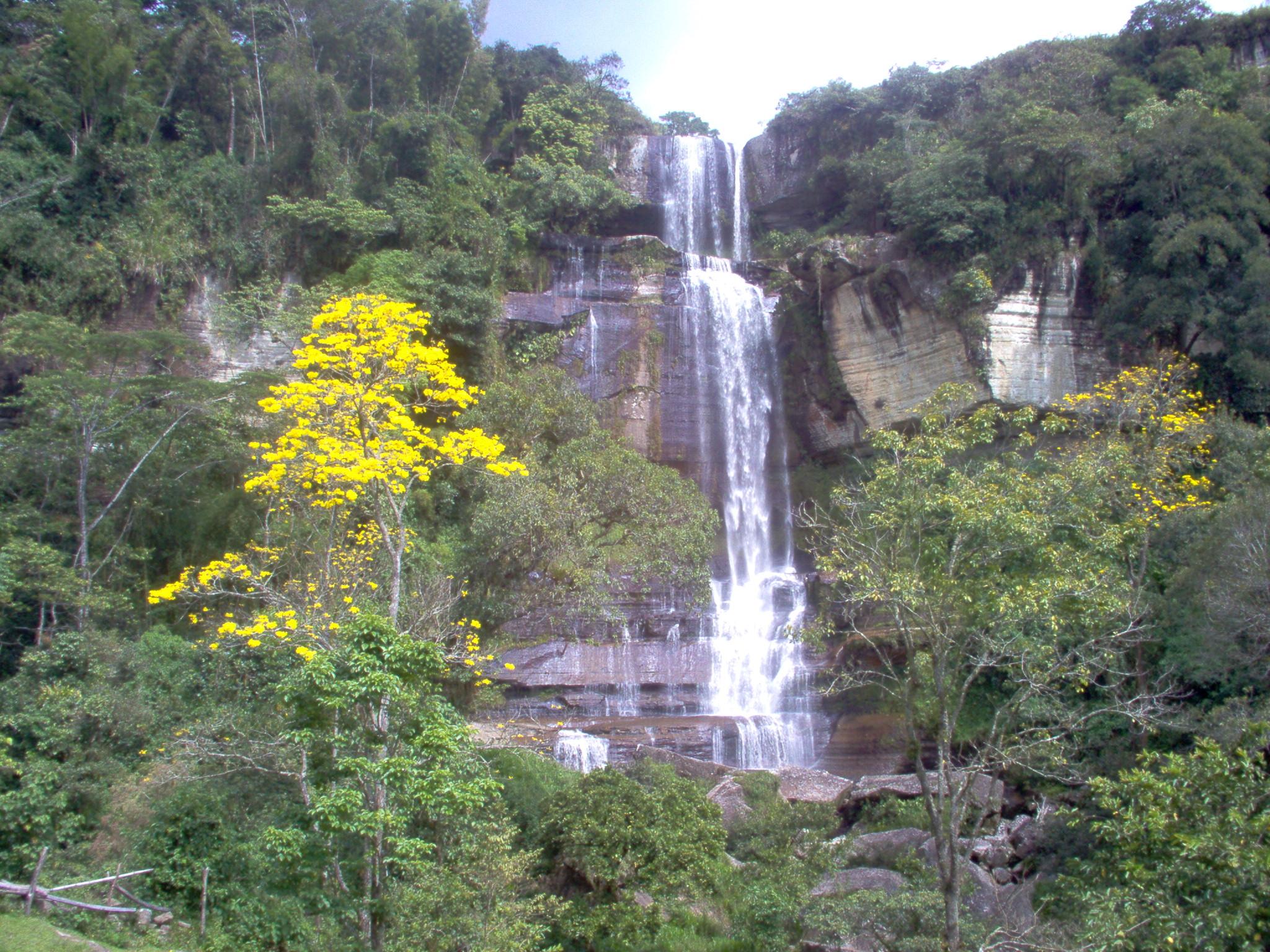 Waterfall in Santiago De Los Caballeros