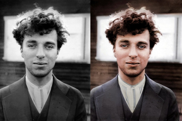 The one and only Charles Chaplin