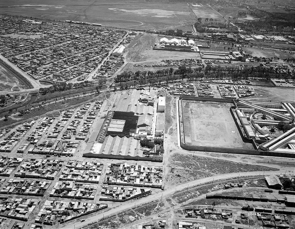 Panoramic view of DF city - 1943