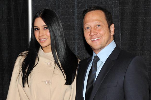 Rob Schneider (53) and Patricia Azarcoya Arce