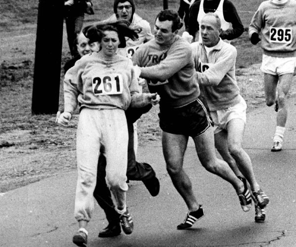Kathrine Switzer, First Woman to Enter Boston Marathon