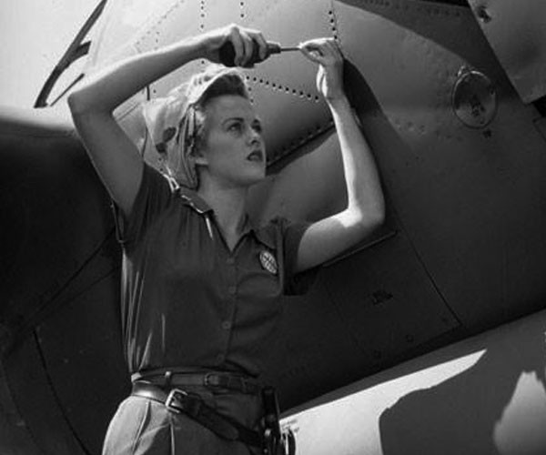 Aircraft Mechanic in 1944