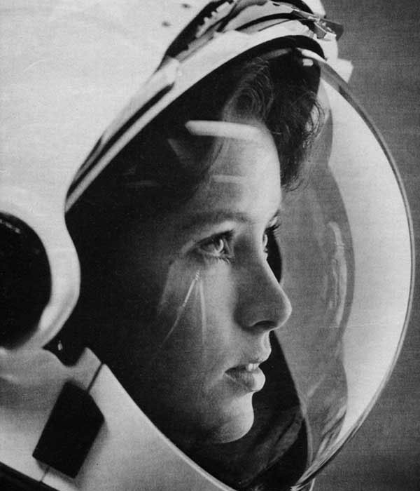 Anna Lee Fisher, one of the first women in space