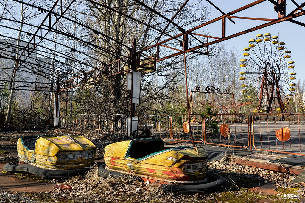 Pripyat, a Town in Ukraine