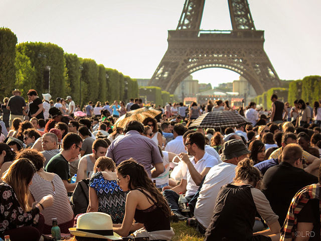What is't like to be at the Eiffel Tower?