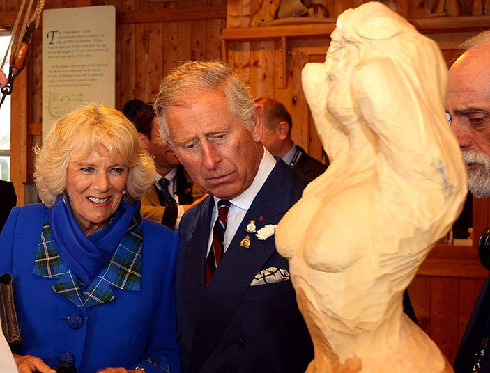 Prince Charles doesn't really understands art