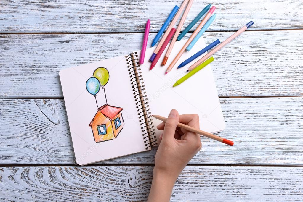 To draw houses
