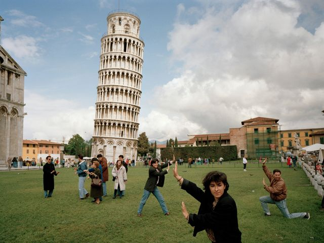 What it's like to be in the Leaning Tower of Pisa?