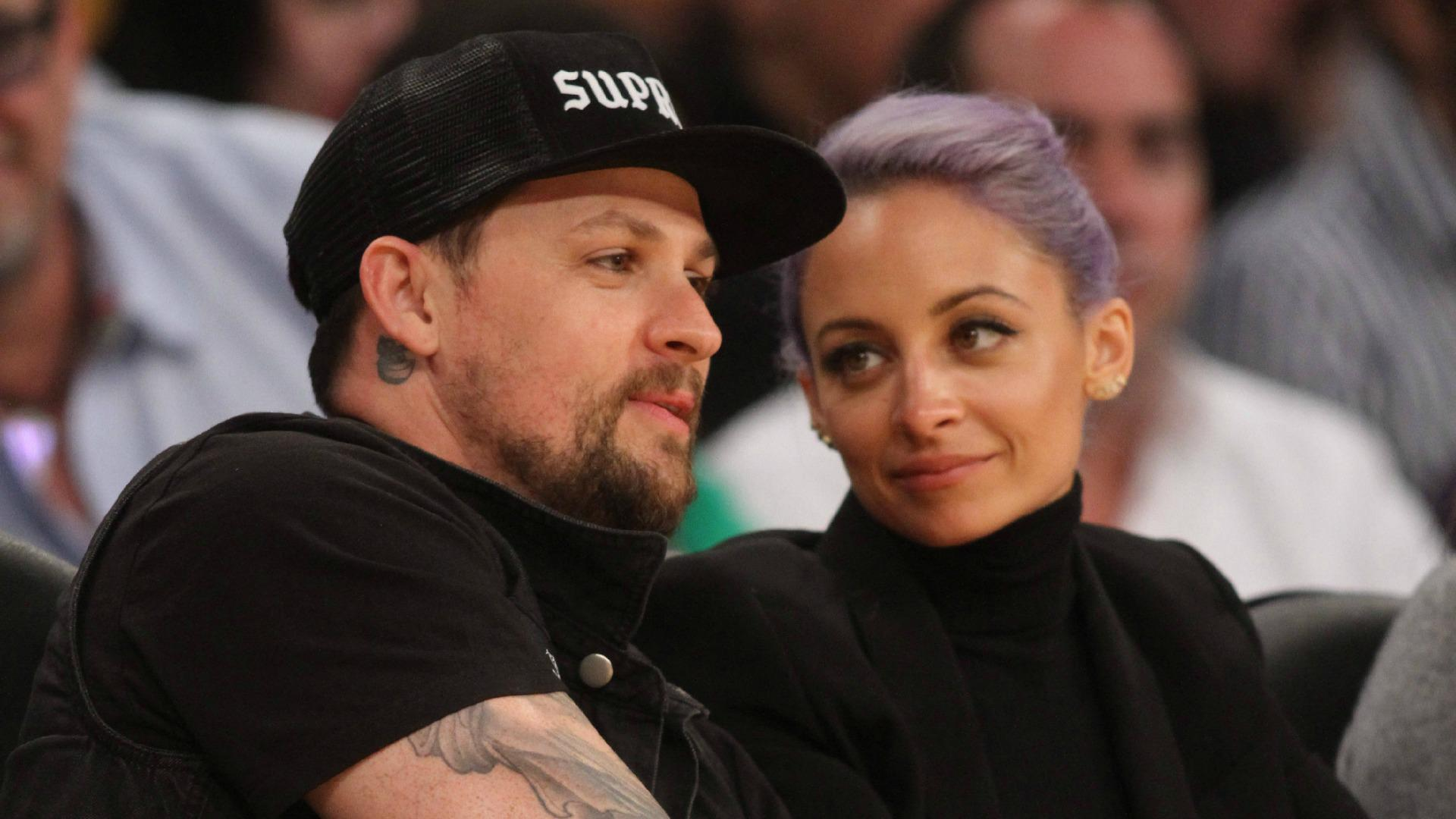 The new family of Nicole Richie and Joel Madden