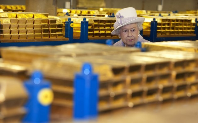 Gold Vaults, Bank of England