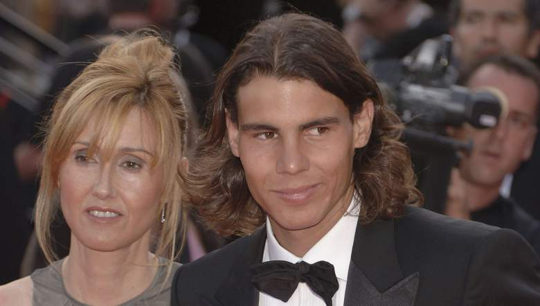 Rafael Nadal lives with his parents