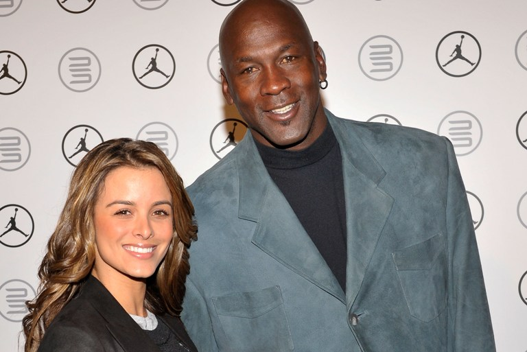 Michael Jordan (54) and Yvette Prieto (38)