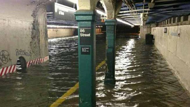 Underground flood tunnels