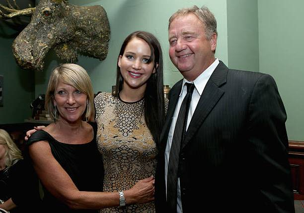 Jennifer Lawrence lives with her parents