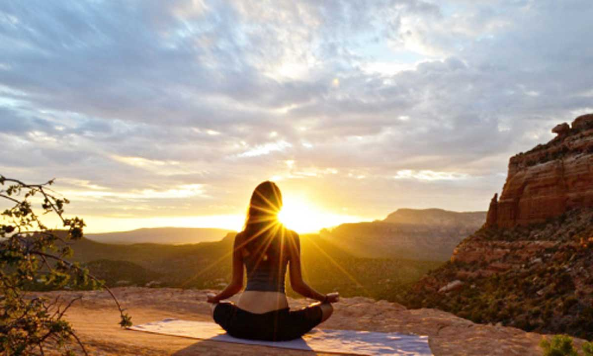Meditating is part of your life