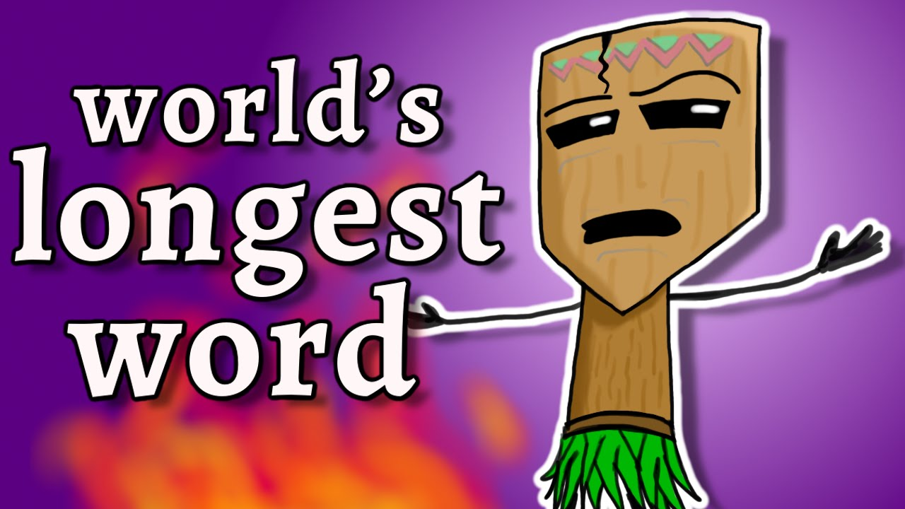 The two longest words in the world
