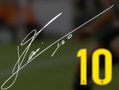 Messi's signature