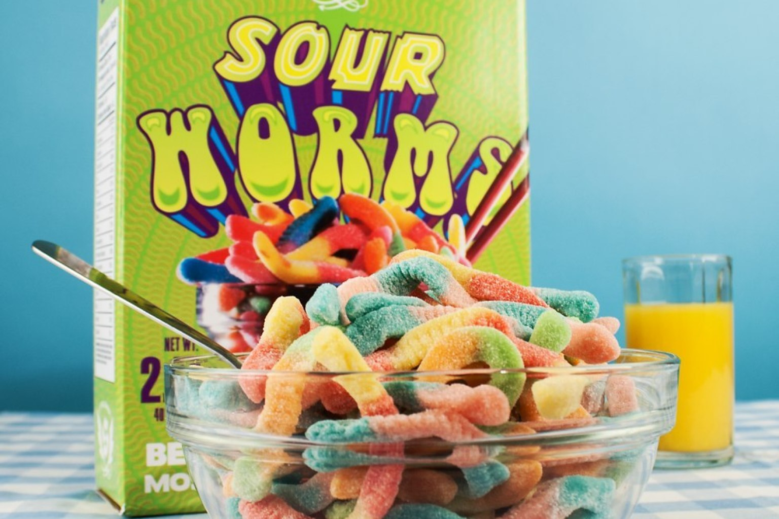 Omg sour Worms!!