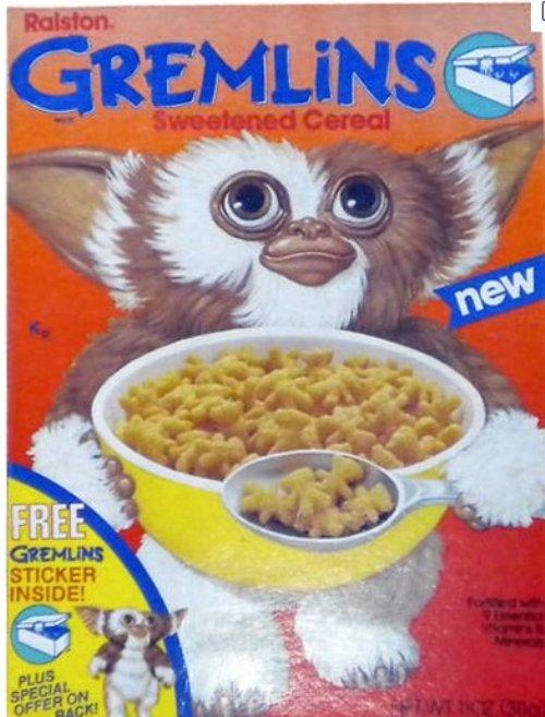 Gremlins cereal?!