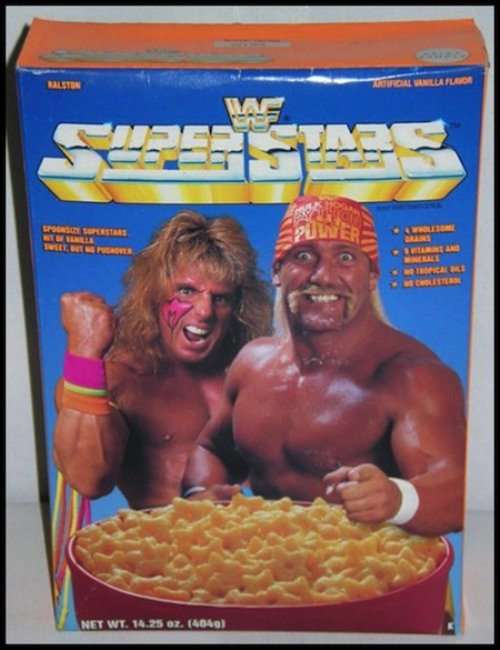 SuperStars cereal...