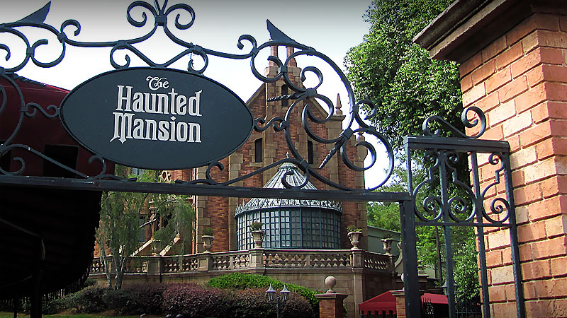 The Haunted Mansion is not maintained by no one