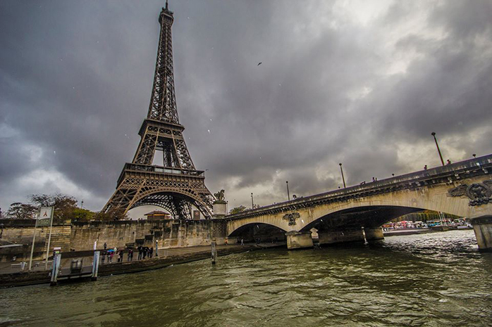 The Eiffel Tower would definitely collapse