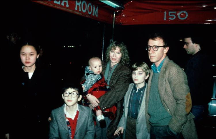 Woody Allen and the adopted daughter who became his wife