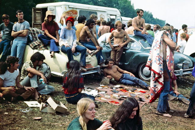 Woodstock Music Festival 1969.