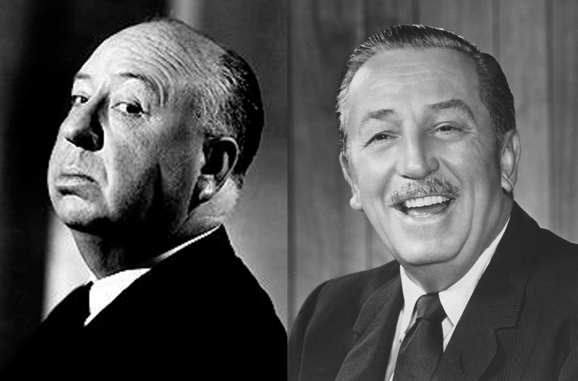 Walt Disney didn't get along with Alfred Hitchcock