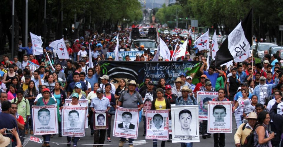Mexico missing students in Ayotzinapa, Mexico 2014