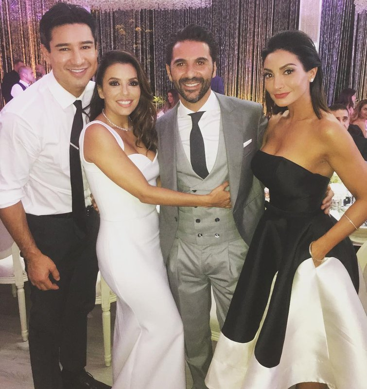 Eva Longoria and Pepe Bastón Wedding