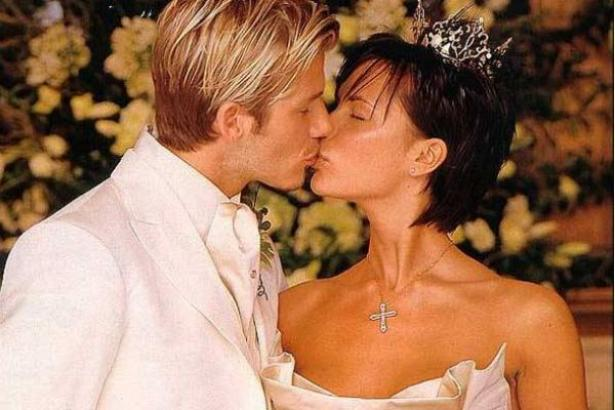 David Beckham and Victoria Wedding