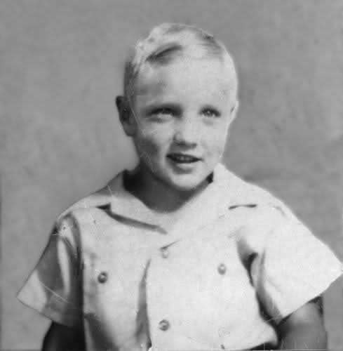 Elvis was born blond