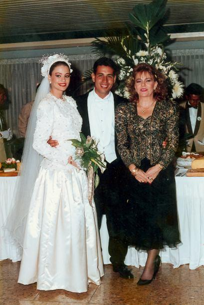 The first wedding of Sofia Vergara