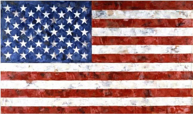 $110 million. Flag by Jasper Johns, 1958