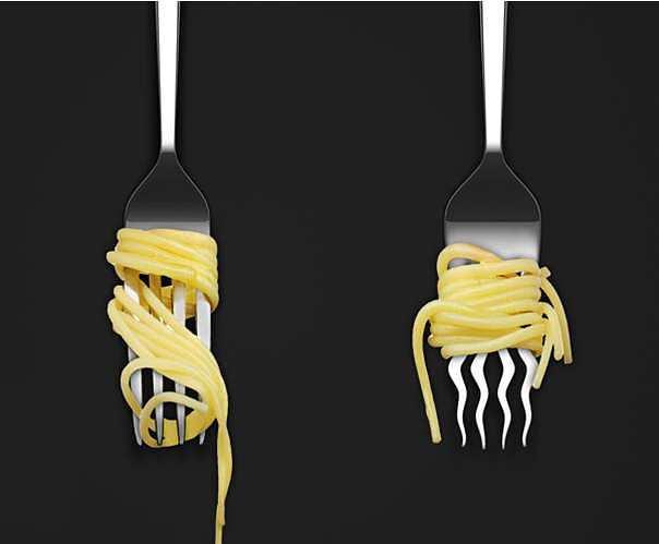 Spiral Pasta Fork