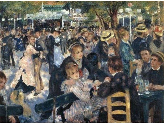$78,100,000. Pierre-Auguste Renoir – Le Moulin de la Galette.