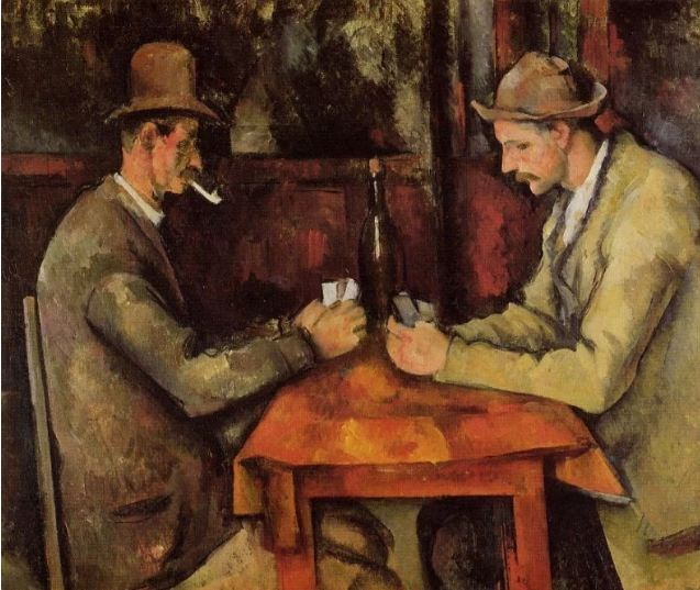 $250 million. The Card Players by Paul Cézanne,2011.
