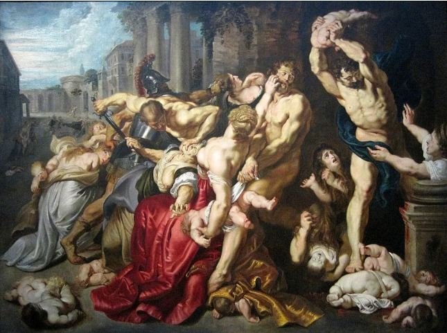 $76.7 million. Massacre of the innocents by Peter Paul Ruben, 1610.