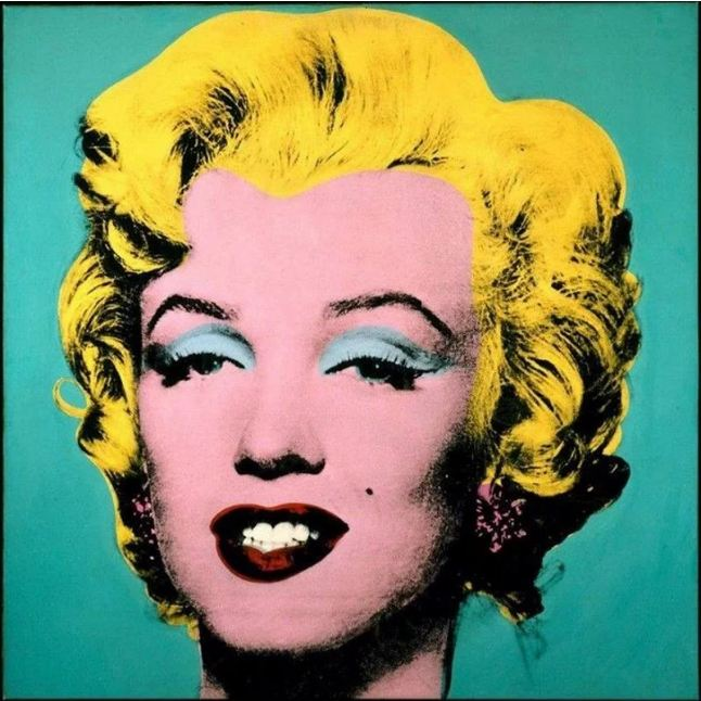 $80 million. Turquoise Marilyn by Andy Warhol