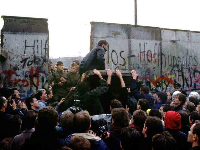 The Berlin Wall 1989