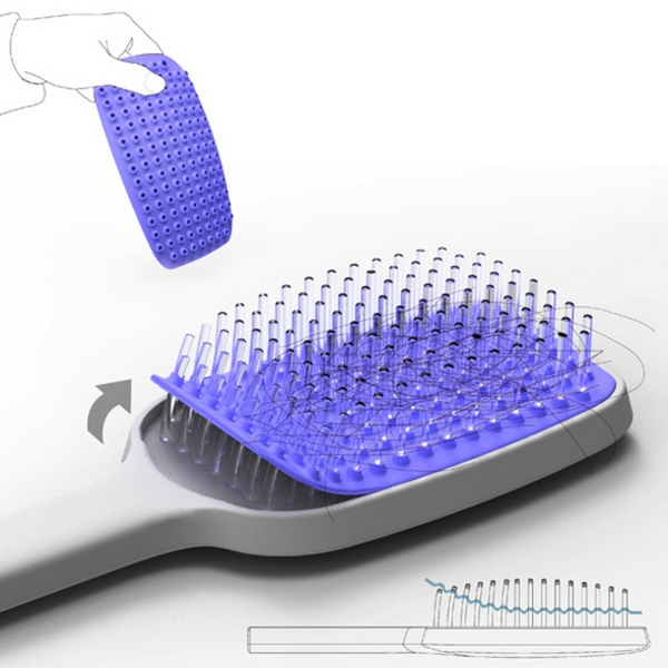 Hair Removal Hairbrush