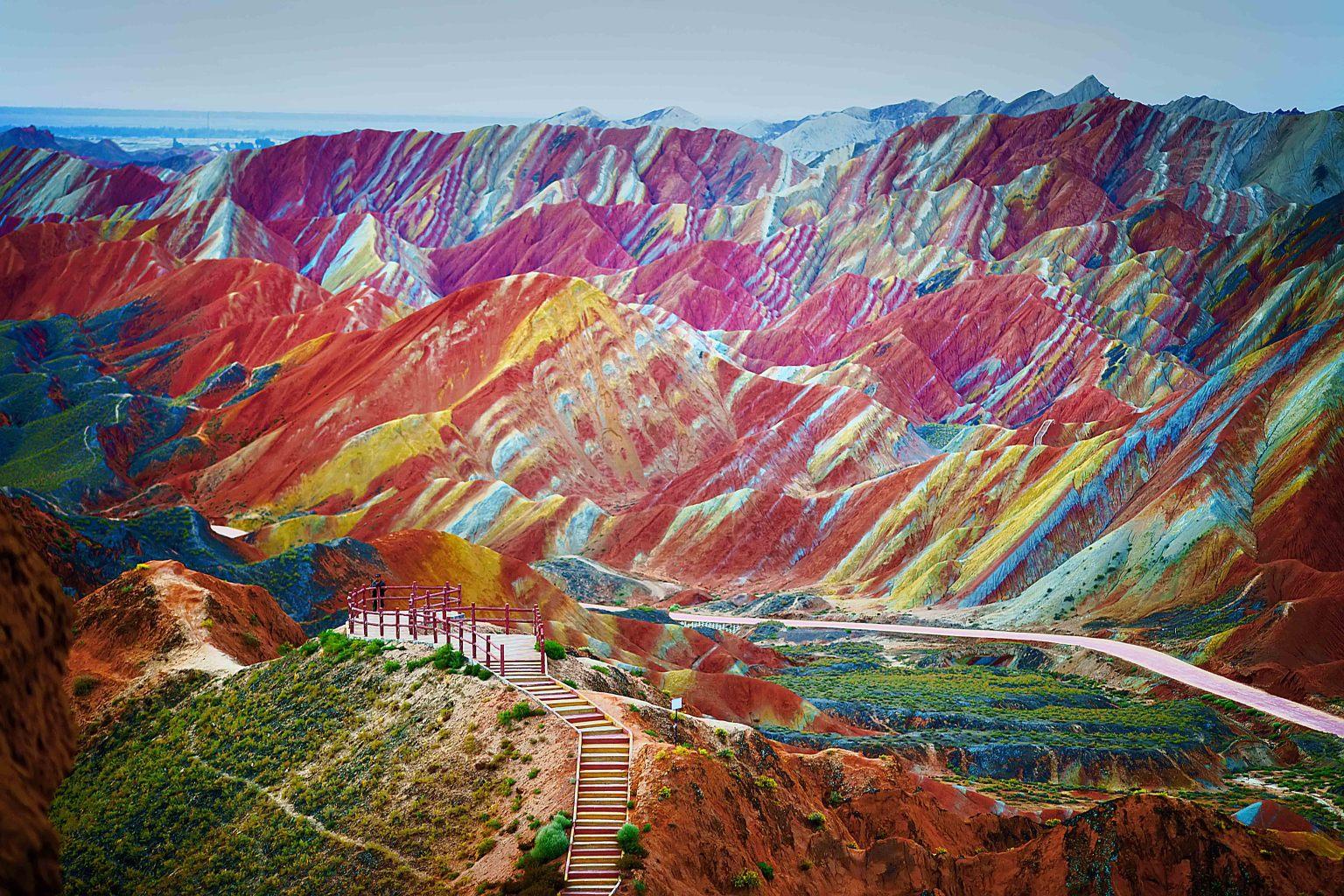 China's Danxia Landscapes