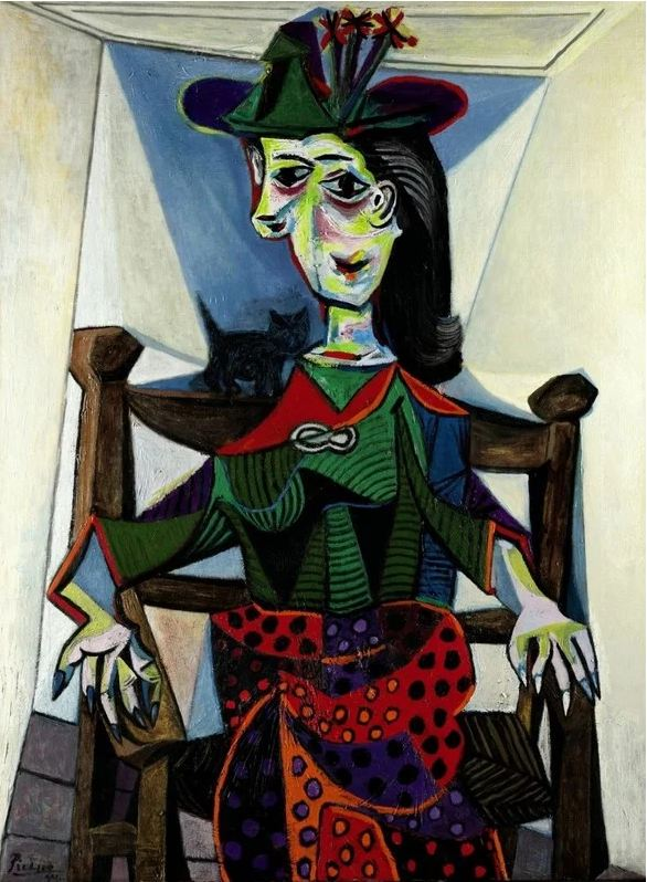 $95,200,000. Pablo Picasso – Dora Maar au Chat.