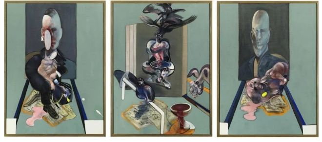 $86,300,000. Francis Bacon – Triptych, 1976.