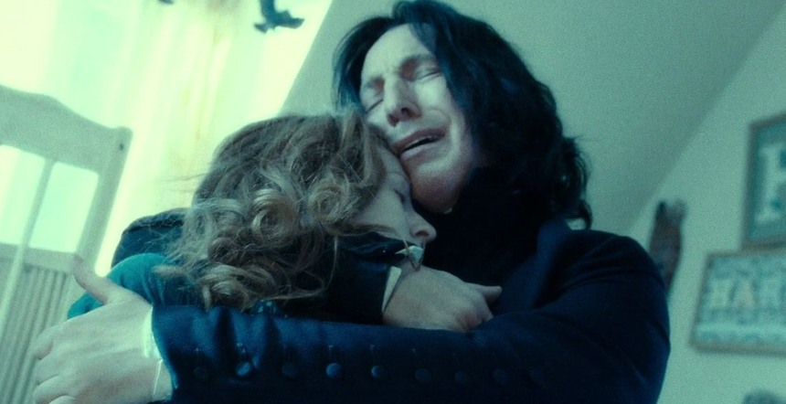 Only Alan Rickman knew the truth about Snape among the cast
